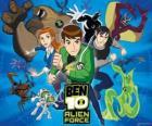 Ben, Gwen e Kevin, os protagonistas humanos de Ben 10 e as seus 10 personalidades alienígenas originais