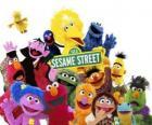 Principais personagens da Vila Sésamo ou Rua Sésamo