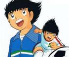 Tsubasa está treinando muito duro para realizar seu sonho