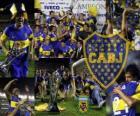 Boca Juniors, campeão do torneio Apertura 2011, Argentina