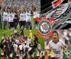 Corinthians, campeão do Campeonato Brasileiro de Futebol em 2011. Brasileirão 2011