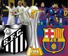 Santos FC - FC Barcelona. Final de Copa do Mundo de Clubes da FIFA Japonia 2011