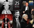 Distinção presidencial da FIFA de 2011 para Alex Ferguson