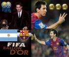 Lionel Messi Bola de Ouro da FIFA 2011