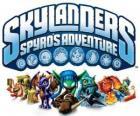Logo do video game do dragão Spyro, Skylanders: As aventuras de Spyro
