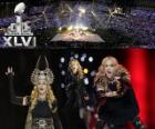 Madonna no Super Bowl 2012