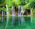 Pequenas quedas de água
