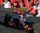 Lewis Hamilton - McLaren - Melbourne, grande prêmio da Austrália (2012) (3º lugar)