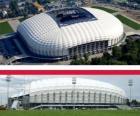 Estádio Municipal de Poznań (41.609), Poznań - Polónia