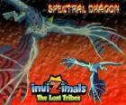 Spectral Dragon. Invizimals Tribos Perdidas. Invizimal malvado que garante combates fáciles se você for corajoso para ter ao seu lado