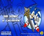 Sir Sonic, Sonic com a espada de um cavaleiro