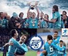 FC Zenit St. Petersburg, campeão da Liga de futebol russo, Premier Liga 2011-2012