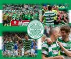 Celtic FC, campeão da Scottish Premier League 2011-2012. Campeonato Escocês de Futebol
