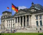 O Reichstag, Frankfurt am Main, Alemanha