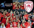 Olympiacos Piraeus, campeão da Euroliga de basquetebol 2012