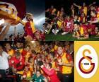 Galatasaray, campeão Super Lig 2011-2012, liga de futebol da Turquia