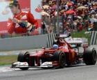 Fernando Alonso - Ferrari - Grande Prémio de Espanha (2012) (2º lugar)