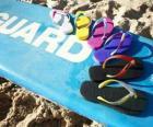 Chinelos ou havaianas para o verão