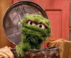 Oscar no seu caixote do lixo