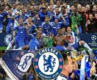 Chelsea FC, o campeão da Liga dos Campeões 2011-2012 UEFA