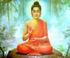 Desenho do Buda Gautama