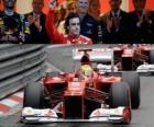 Fernando Alonso - Ferrari - GP de Mônaco 2012 (3º lugar)