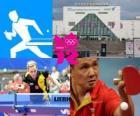 Tênis de mesa, pingue-pongue ou mesatenismo - Londres 2012-