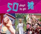 Londres 2012, 50 dias