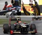 Romain Grosjean - Lotus - grande prêmio do Canadá (2012) (2º lugar)