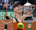 Maria Sharapova campeão Roland Garros 2012