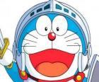Doraemon em uma de suas aventuras