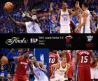 Finais da NBA 2012, jogo 1, Miami Heat 94 - Oklahoma City Thunder 105