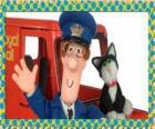 O carteiro Patrick Clifton, O Carteiro Paulo com Jess o Gato