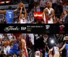 Finais da NBA de 2012, 4 ª jogo, Oklahoma City Thunder 98 - Miami Heat 104