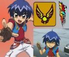 Kazuya Daidoh é o personagem principal de Scan2Go e ele quer se tornar o piloto mais rápido no espaço