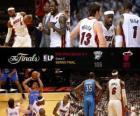 Finais da NBA de 2012, jogo 5, Oklahoma City Thunder 106 - Miami Heat 121