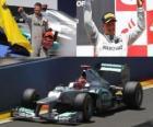 Michael Schumacher - Mercedes - GP da Europa 2012 (3º classificado)