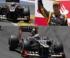 Kimi Räikkönen - Lotus - European Grand Prix (2012) (2 classificados)
