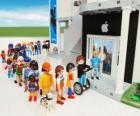 Loja Apple Playmobil