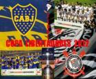 Boca Juniors vs Corinthians. Final Copa Libertadores da América 2012