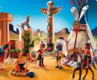 Playmobil indiano camp