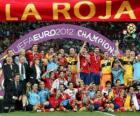Espanha, campeã UEFA EURO 2012