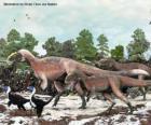 Yutyrannus com cerca de 9 metros é o maior dinossauro com penas conhecido