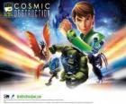 Ben 10 Ultimate Alien destruição cósmica