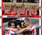 Atlético de Madrid campeão da UEFA Super Cup 2012