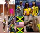 Atletismo 100m mulheres Londres 12