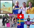 Triathlon do mulheres Londres 2012