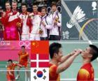 Badminton Duplas masculino LDN 12
