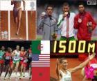 Atletismo homens de 1.500m LDN 12