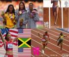 Atletismo 200m fem Londres 2012